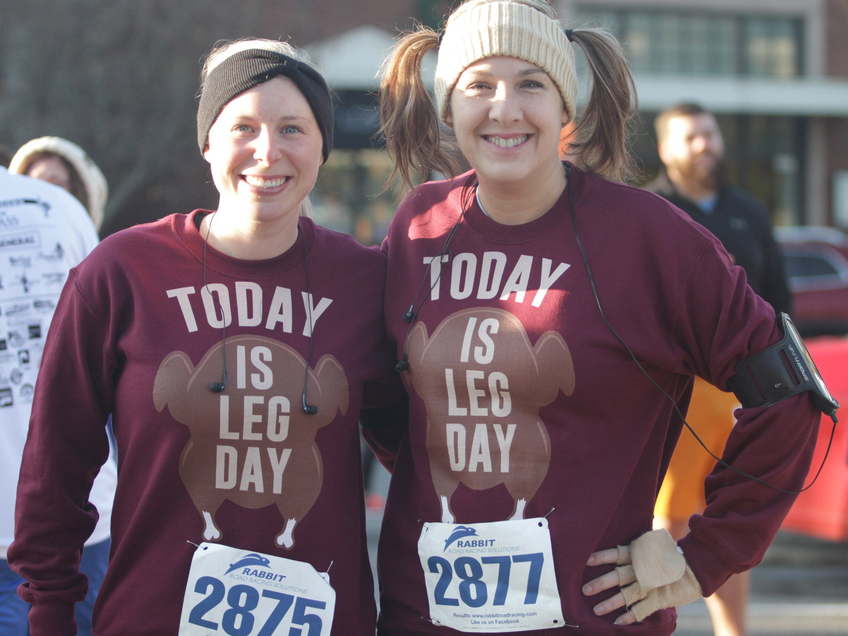 Participants dressed for the occasion for the Indian Lake Loop 2018 benefiting COMPASS on Thanksgiving Day at The Streets of Indian Lake.
