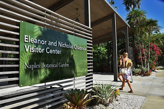 The Naples Botanical Garden is located at the corner of Bayshore Drive and Thomasson Drive.