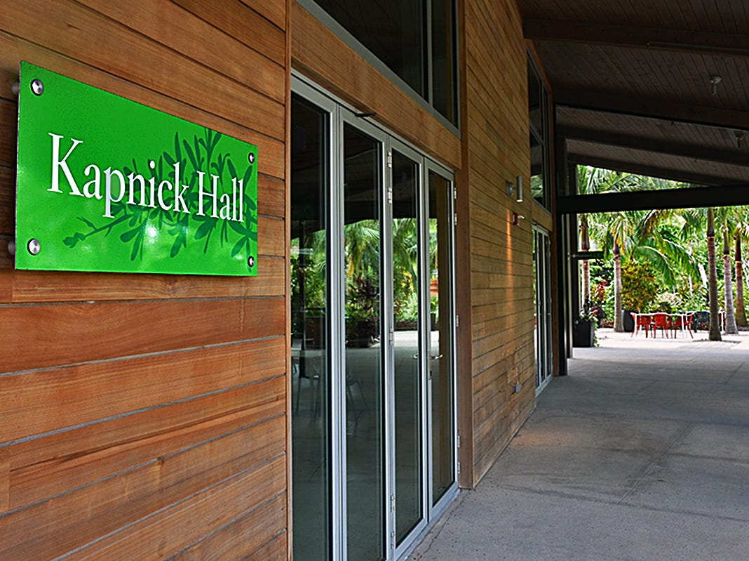 In 2000, the late Harvey Kapnick, Jr. donated $5 million for the purchase of 170 acres of open space 3 miles from downtown Naples to become the Naples Botanical Garden.
