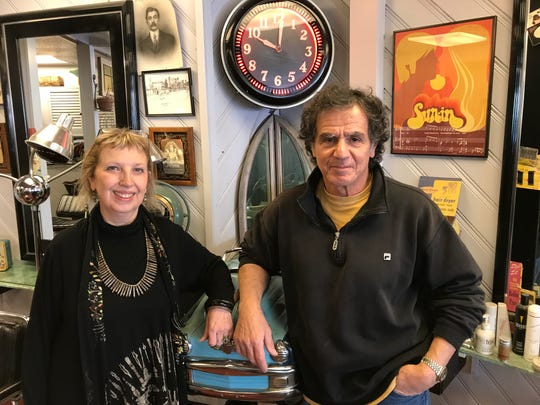 Small-business owners Sandy Trachtenberg of Bettina's Boutique and Robbie Crispino of Raven Classic Hair came up with a novel retail solution: a shared space on Teaneck's Cedar Lane.
