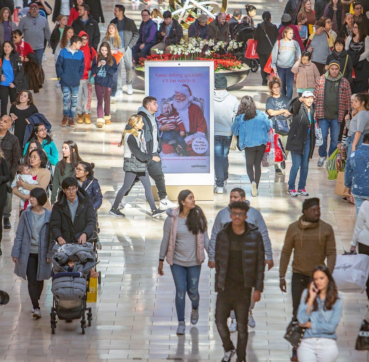 Black Friday scorecard: More spending online, fewer shoppers in stores
