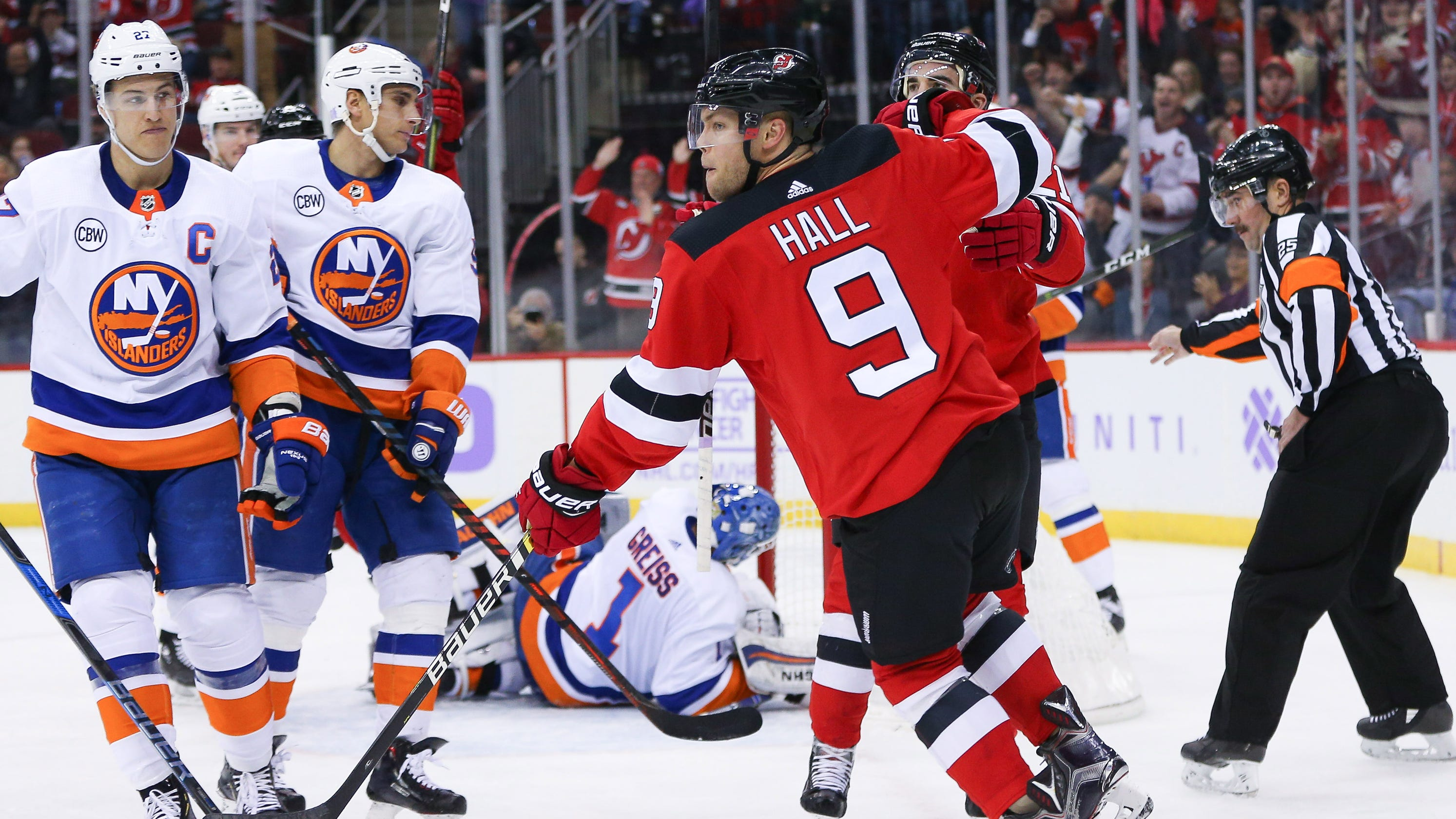 cheaper cb76b 087f5 Taylor Hall is 'invested' in NJ Devils, John Hynes says