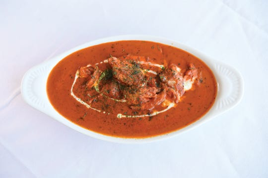 The butter chicken at Bay Leaf in South Orange
