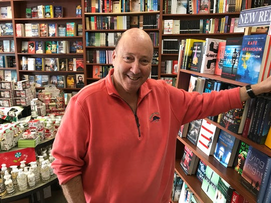 Kenny Sarfin, owner of Books & Greetings in Northvale.