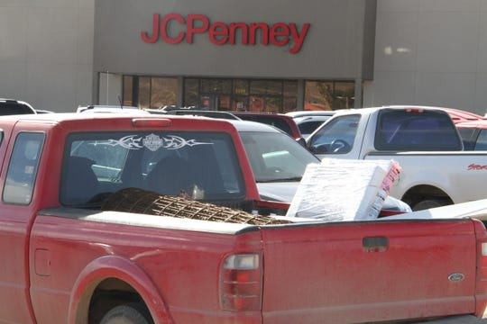 Alamogordo's J.C. Penney's store was busy during Black Friday's sales. White Sands Mall's parking had a steady flow of vehicles parked outside J.C. Penney.