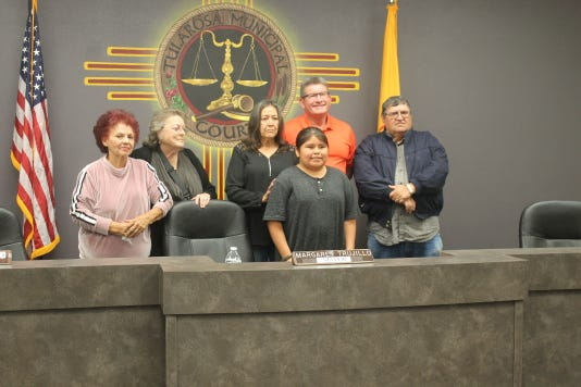 Hunter Benally and Tularosa Village Council