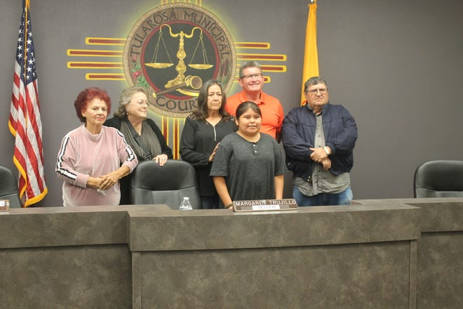 The Tularosa Village Council declared Nov. 21 Hunter Benally day in Tularosa because of Benally's moving poem he wrote about his uncle.