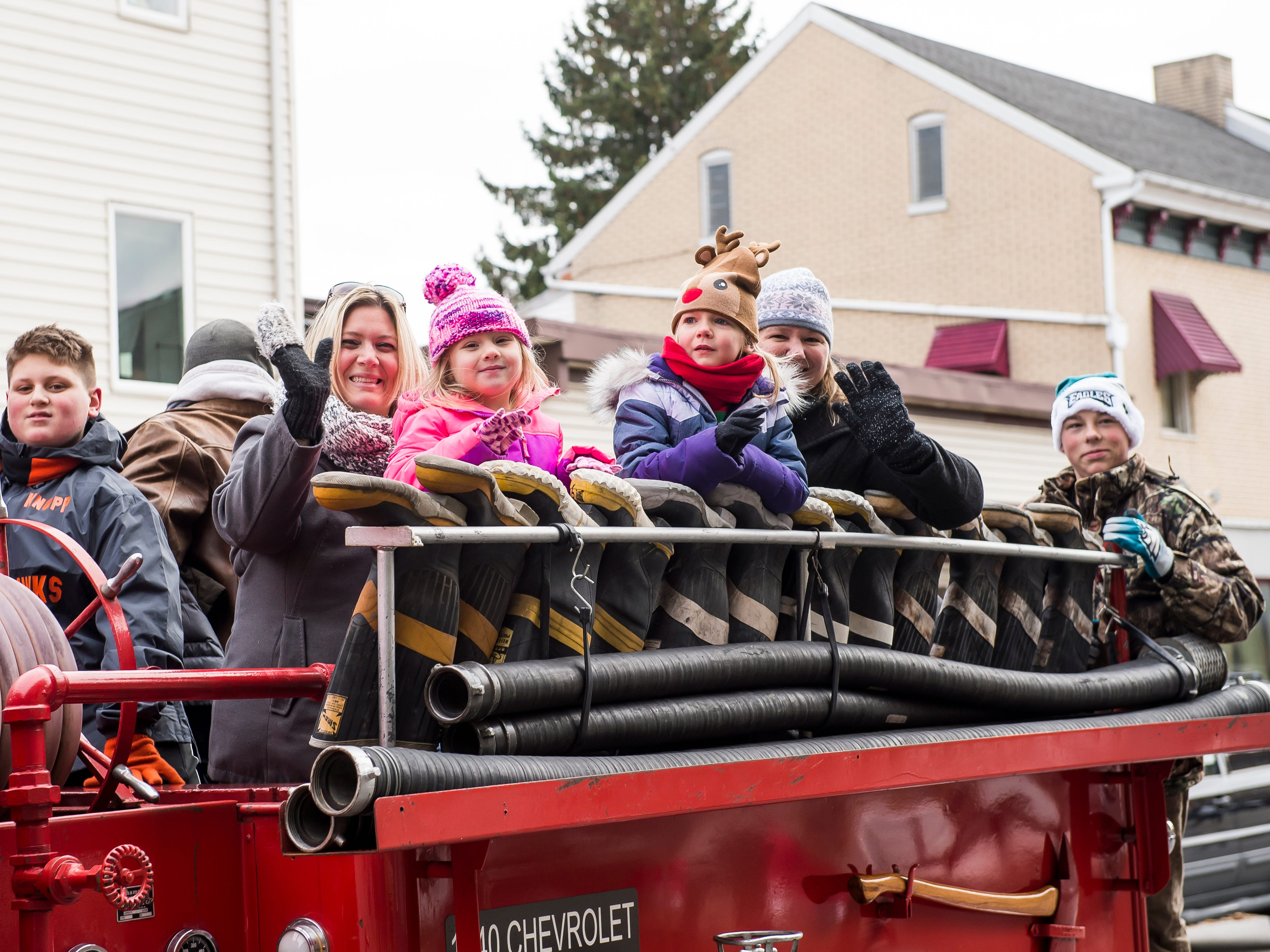 The annual Hanover Christmas parade on Friday, November, 23, 2018.