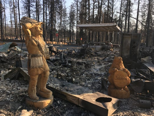 The Camp Fire, which began Nov. 8, 2018, destroyed thousands of homes and businesses in Paradise, California.