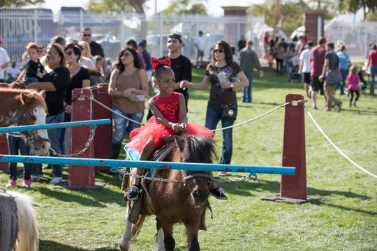 The City of Surprise's annual Surprise Party has family-friendly entertainment such as pony rides.