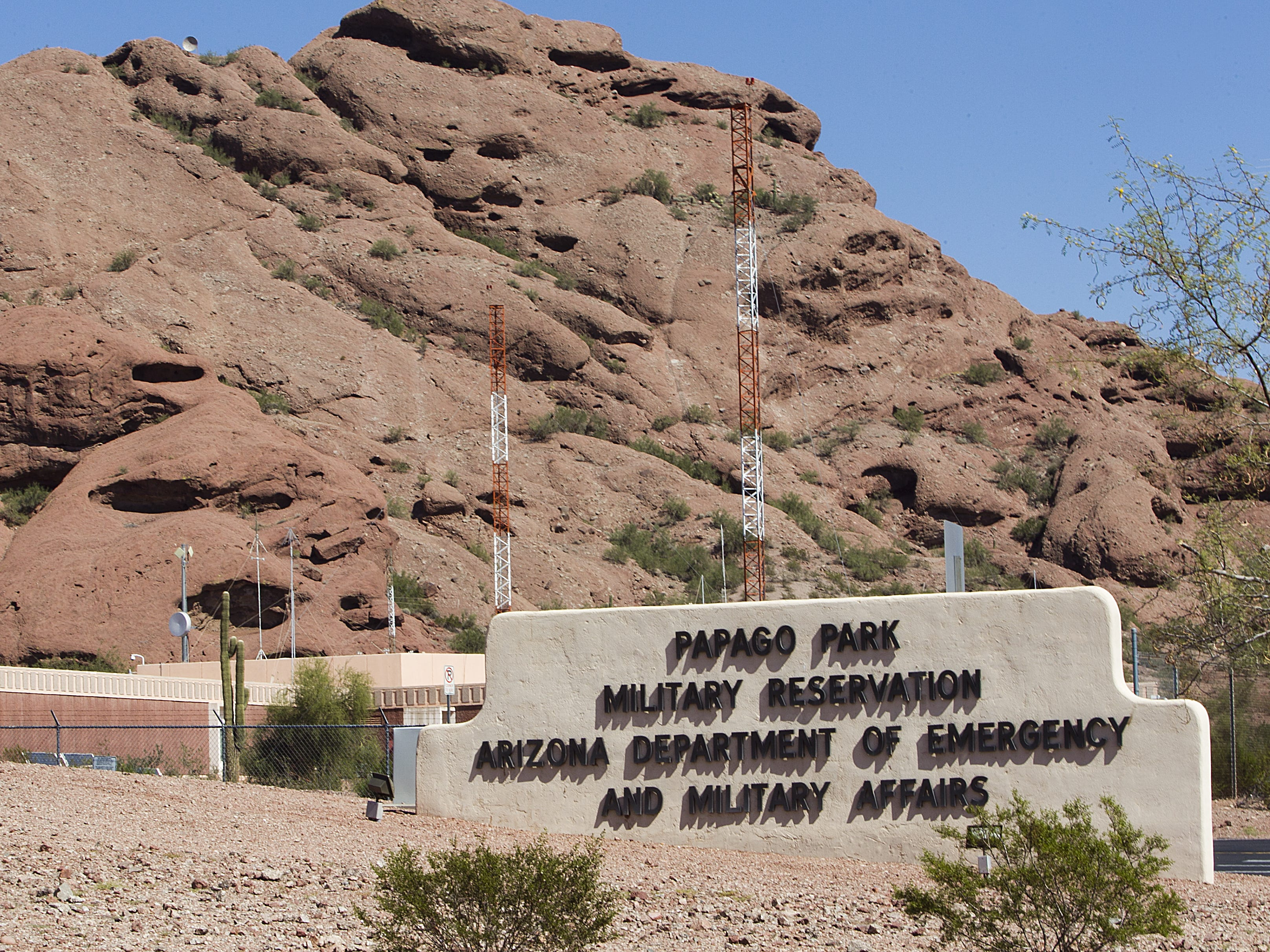 A farewell ceremony is planned Saturday at Papago Park Military Reservation in Phoenix for an Arizona National Guard unit that is shipping out.