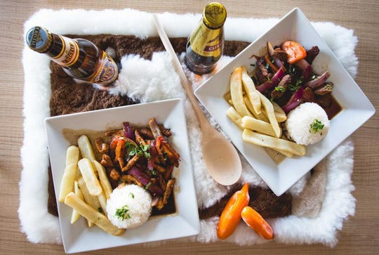 This new Latin restaurant serves lomo saltado, a traditional Peruvian dish made with beef, onions, tomatoes and fries.