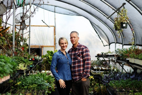 Jessica and Ryan Jerrell, owners of Dig It Gardens.