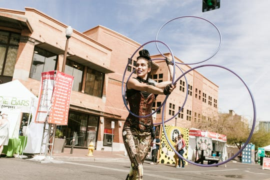 The Tempe Festival of the Arts often highlights local street performers, musicians and dance groups.
