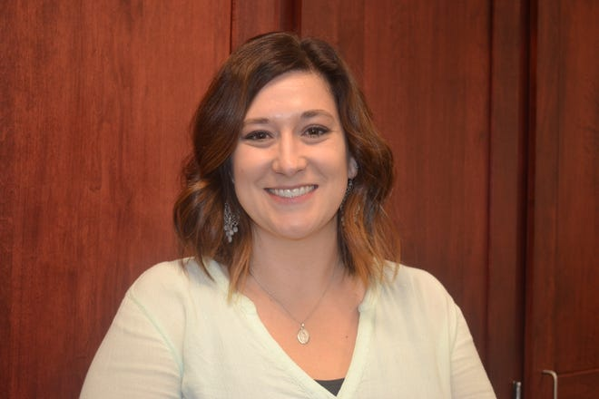 Port Clinton High School history teacher Becky Fork was honored with the Emerging Social Studies Leader award, bestowed on a social studies teacher who demonstrates outstanding leadership skills and a passion for teaching within her first three years on the job.