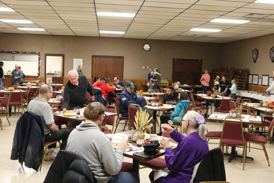 The VFW Post 2947 hosted the 33rd annual Vince Swindt Community Dinner in Fremont on Thursday.
