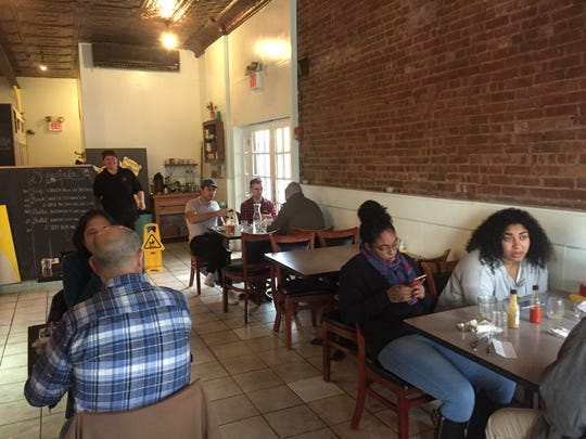 Kingston's Pakt is low key, a tad funky and high on the hipster quotient. The food is big and delicious and Southern.