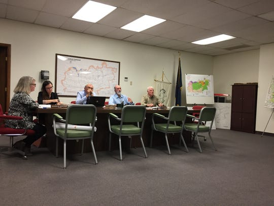 The North Codorus Township board of supervisors met Tuesday, Nov. 20. The board discussed its decision to leave Southwestern Regional Police in 2020. Christopher Dornblaser photo.