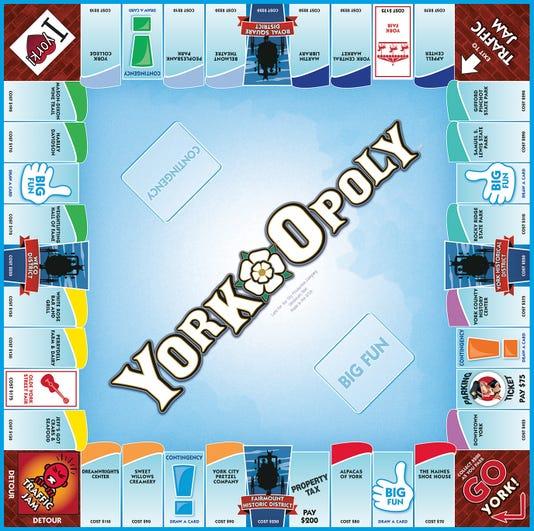 York-Opoly game