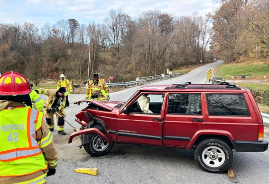 Cabin Creek Road Accident