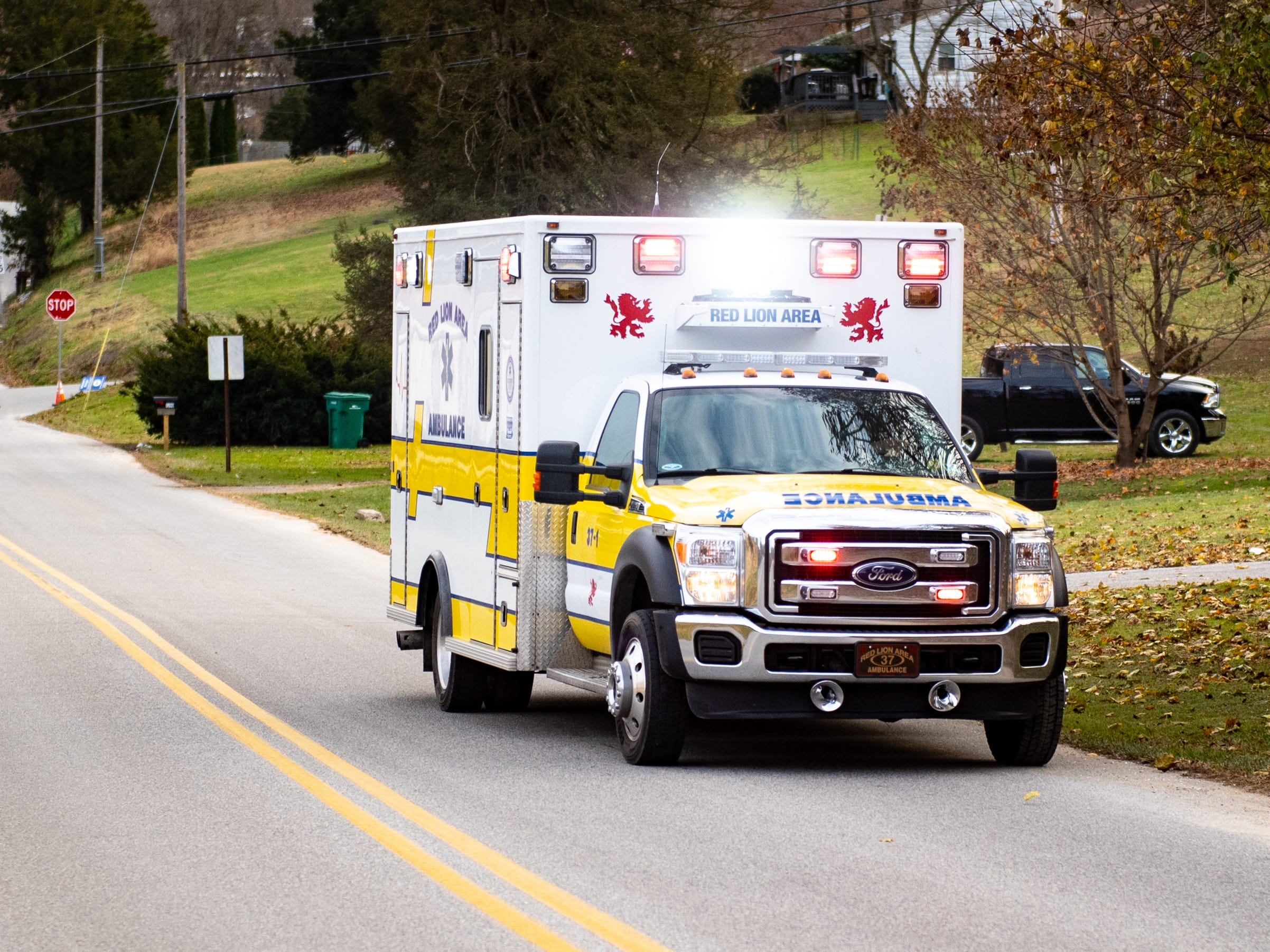 Emergency personnel were dispatched at 2:19Êp.m. to check out the scene, according to York County Control, November 23, 2018.
