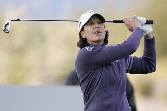 Juli Inkster was runner-up to Laura Davies in the inaugural U.S. Senior Women's Open in July.
