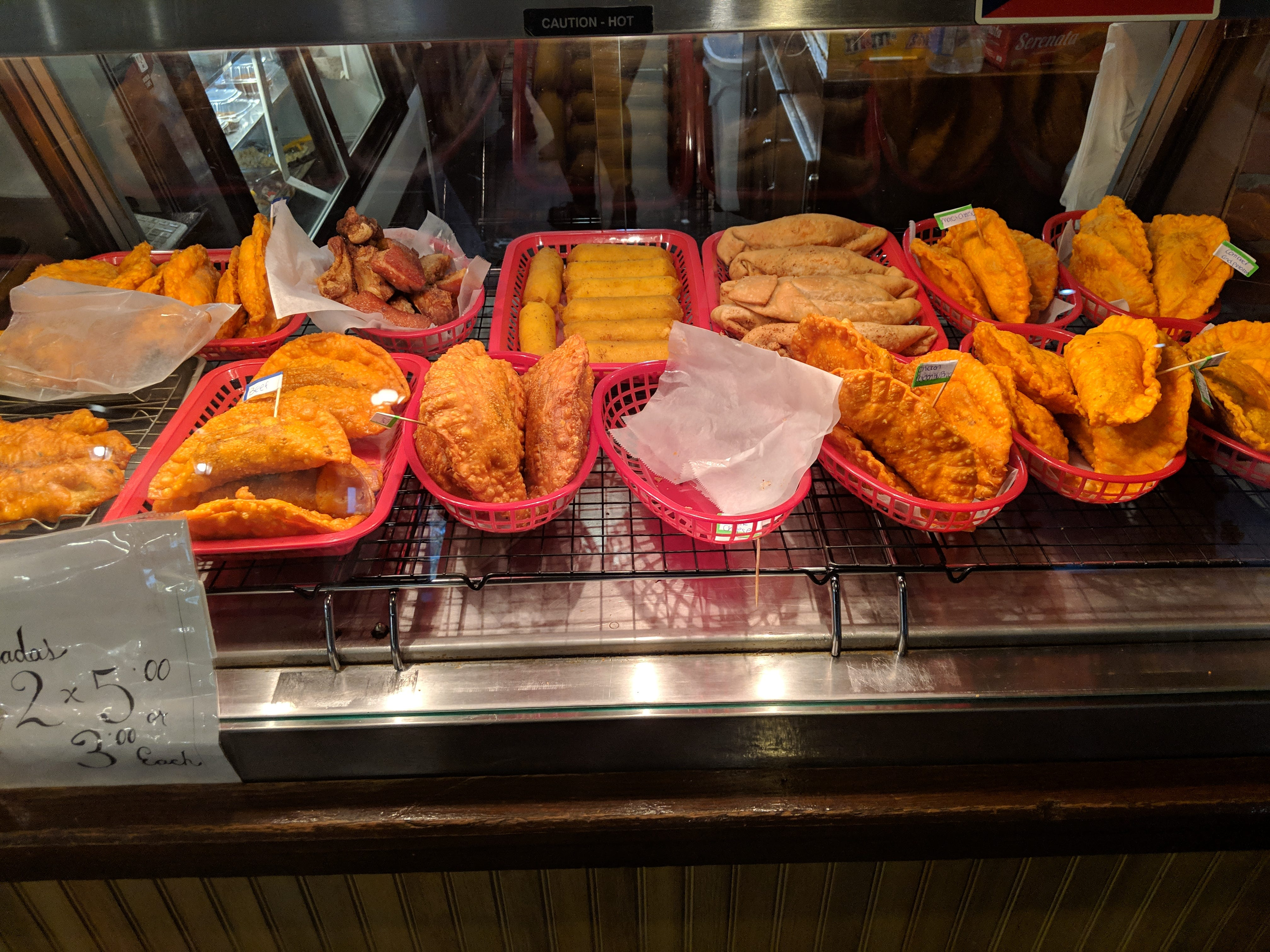 Some of the fried delicacies at La Olla Criolla.