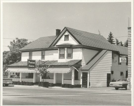 The Penfield Tavern in the 1970s.