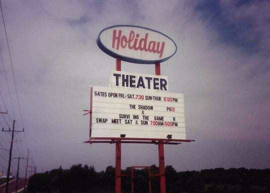 The site of the Holiday Drive-in also became home to weekend swap meets.