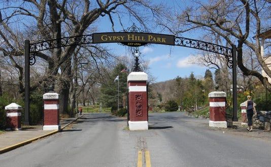 Gypsy Hill Park Gateway