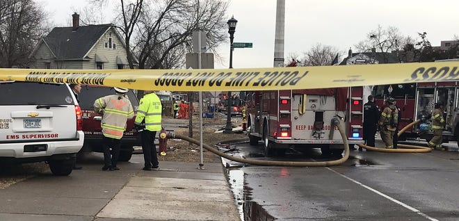 St. Paul Fire chief confirms house explosion.