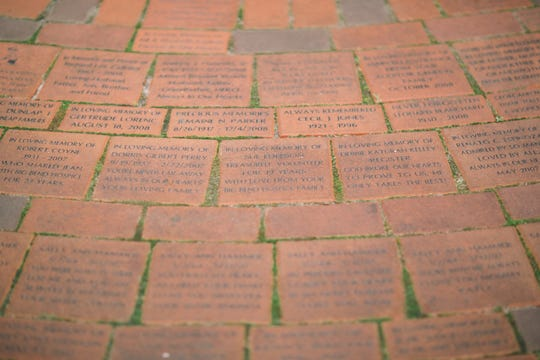 Each paver of the Remembrance Walkway at Big Bend Hospice honors a loved one who has passed on. Big Bend Hospice offers grief support to anyone in its service area, regardless of whether your loved one was in Hospice care. The Bereavement Services Department also offers counseling and support groups during the holidays.