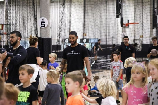 Sports Academy in Newbury Park opened its doors to hundreds of local kids after the Woolsey and Hill fires forced school closures. On its busiest day, there were somewhere around 700 kids at the sports camp.