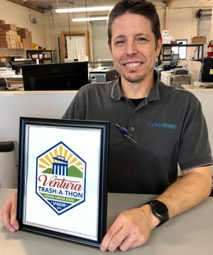 Sponsors of the Ventura Trash-a-Thon will receive a framed award.