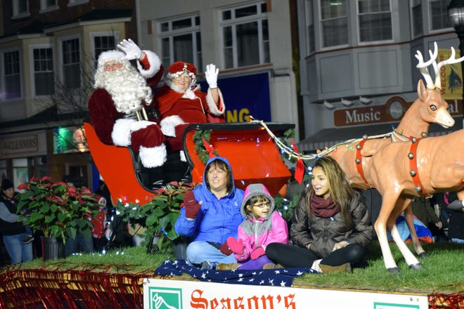 The annual Main Street Vineland Christmas Parade, originally scheduled for 5 p.m. Nov. 24 has been postponed because of impending inclement weather. The parade will be held at 5 p.m. Nov. 25.