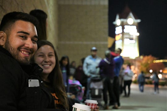 Couple Kayla Pena and Rafael Govea conclude their Black Friday journey at the Tulare Outlets before Thanksgiving has even ended.