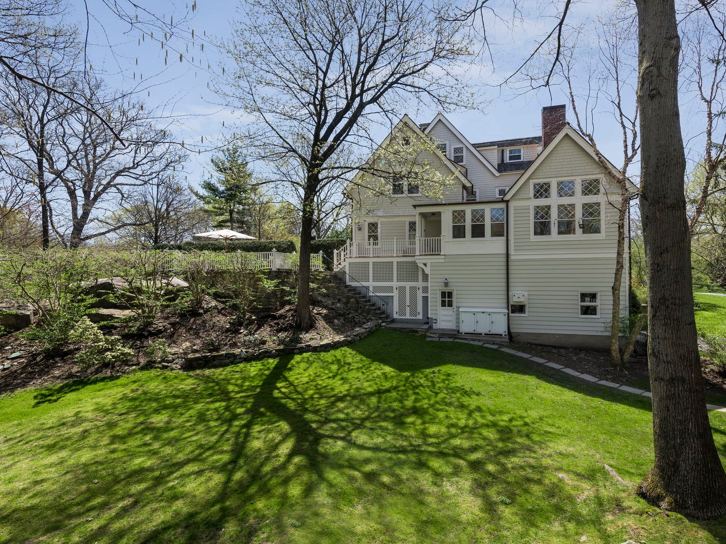Famed aviation pioneer Ruth Rowalnd Nichols lived in this Rye home, now on the market. Built in 1880, the Shingle style colonial offers significant acreage for Rye at 3.3 acres and also includes a carriage house. The residence has had a modern renovation.