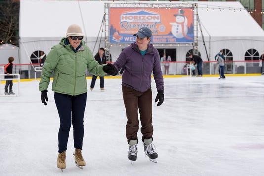 Riverfront Ice Skating