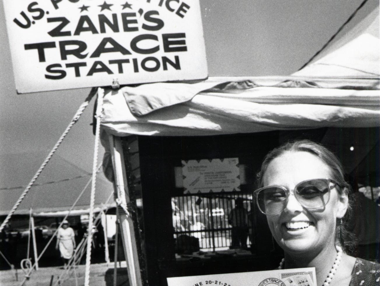 An undated picture of the Zane Trace Commemoration from the Times Recorder files.
