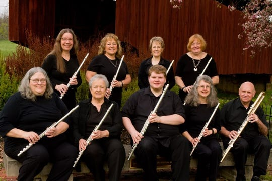 Flutasia performing for Christmas Walk from 7 to 8 p.m. at the Calvary Arts Center in New Lexington.
