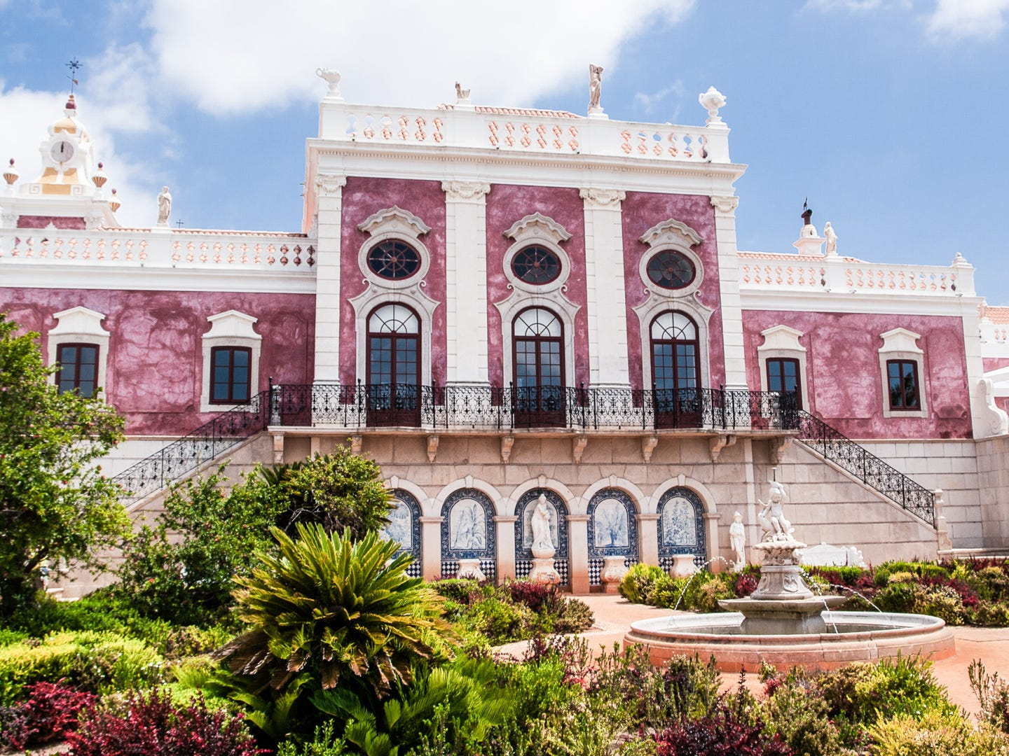Pousada Palácio de Estoi, from $215 per night. Ever dream of living like a king? Part of the Small Luxury Hotels of the World collection, this gorgeous dusty pink chateau in Estoi, Portugal, is actually a restored 18th-century palace. There are grand gardens inspired by Versailles, Turkish baths and balconies with delightful views — all for a super-affordable nightly rate. The property has a certificate of excellence from TripAdvisor.