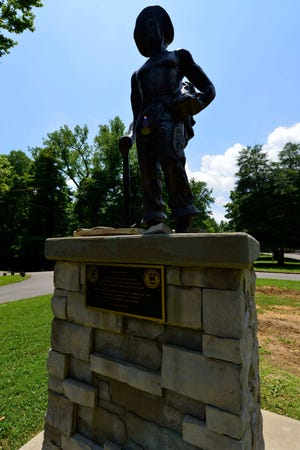 Audubon State Park, located near Henderson, Kentucky, on the Ohio River, was a Civilian Conservation Corps project.