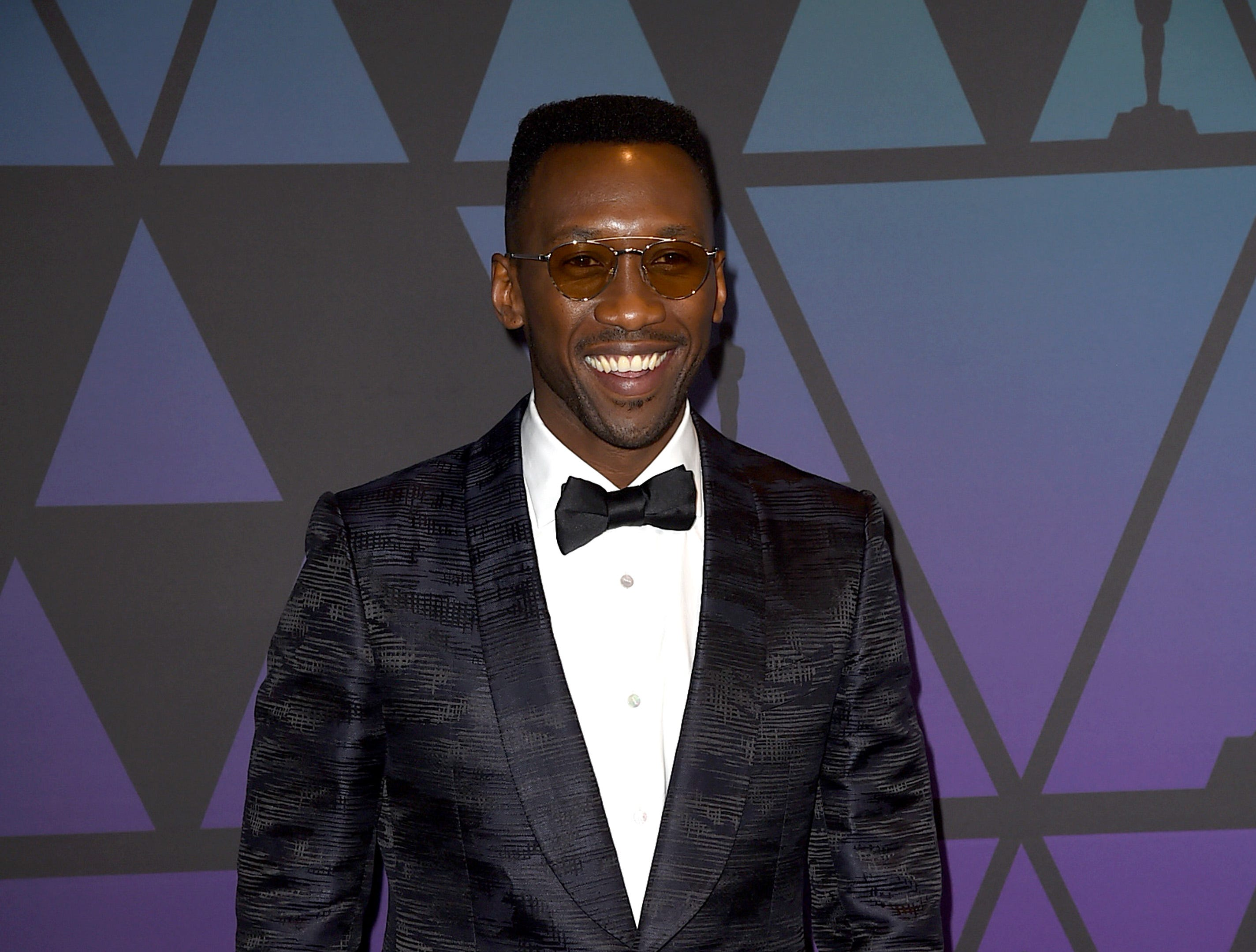 HOLLYWOOD, CA - NOVEMBER 18:  Mahershala Ali attends the Academy of Motion Picture Arts and Sciences' 10th annual Governors Awards at The Ray Dolby Ballroom at Hollywood & Highland Center on November 18, 2018 in Hollywood, California.  (Photo by Kevin Winter/Getty Images) ORG XMIT: 775223509 ORIG FILE ID: 1063405234