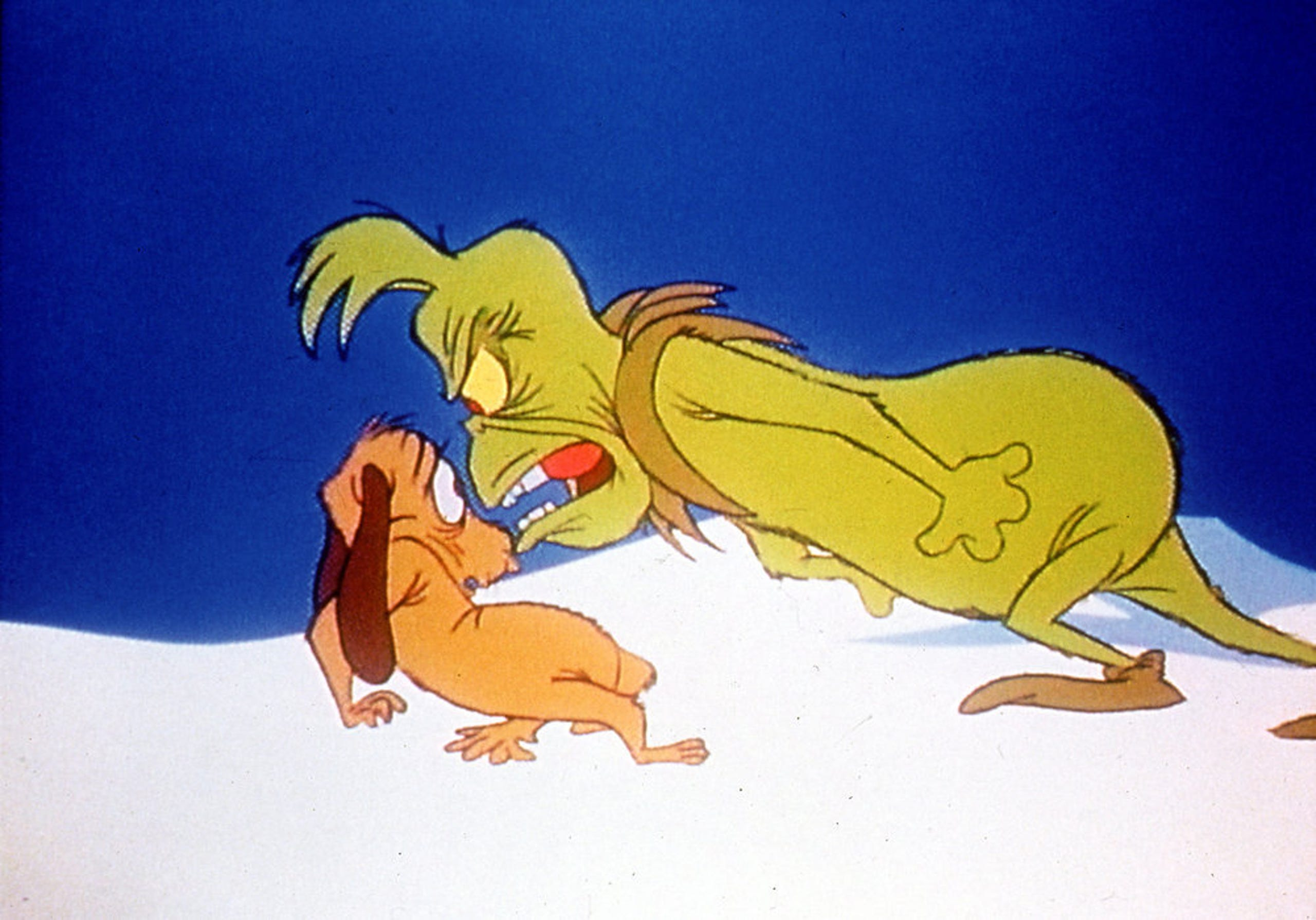 How The Grinch Stole Christmas 1966 Max.The Grinch Dog Star Max Ode To The Green Grinch S Faithful
