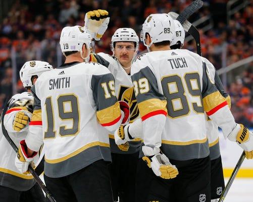 Usp Nhl Vegas Golden Knights At Edmonton Oilers S Hkn Edm Vgk Can Al
