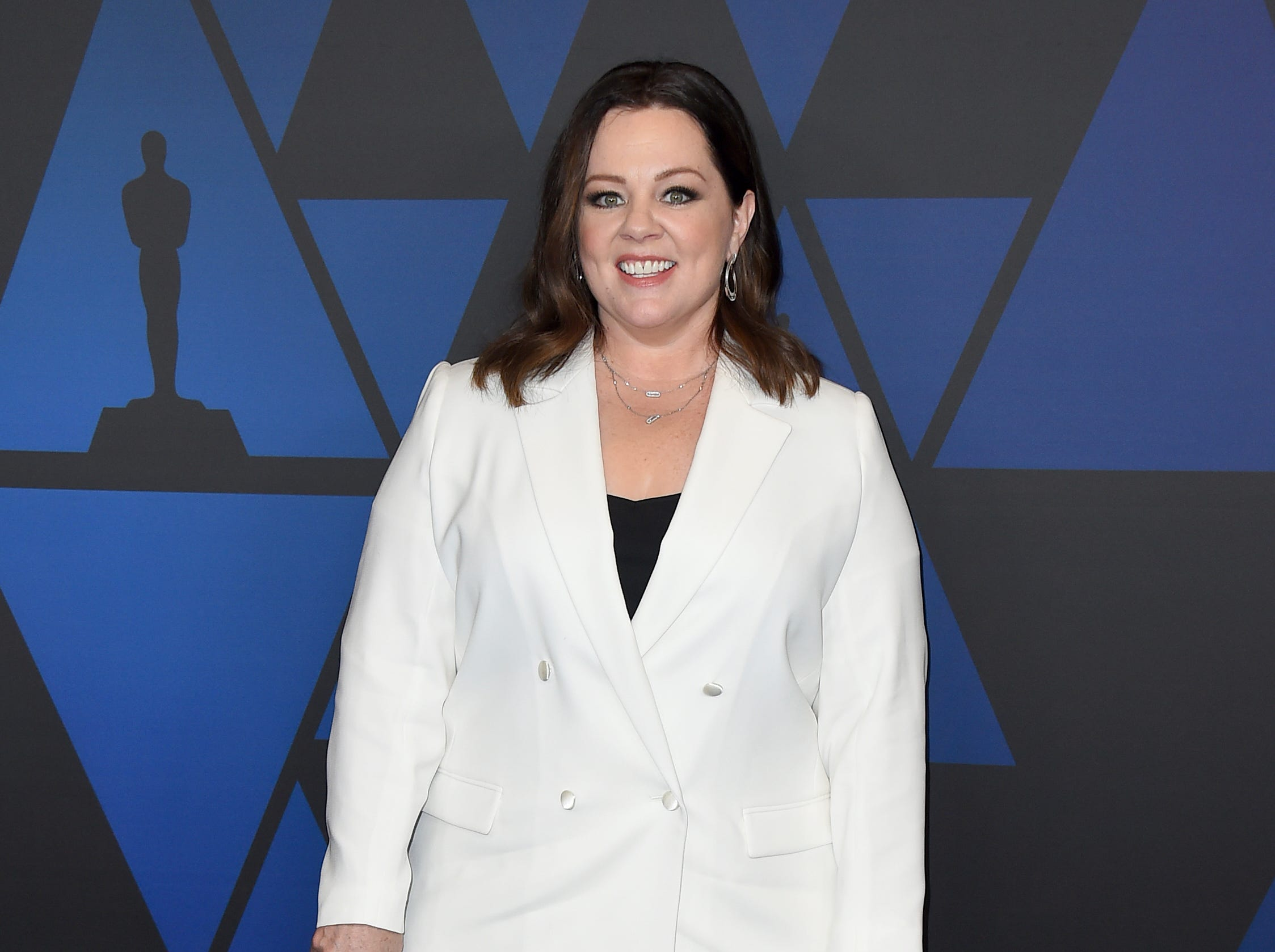 Melissa McCarthy arrives at the Governors Awards on Sunday, Nov. 18, 2018, at the Dolby Theatre in Los Angeles. (Photo by Jordan Strauss/Invision/AP) ORG XMIT: CAPM171