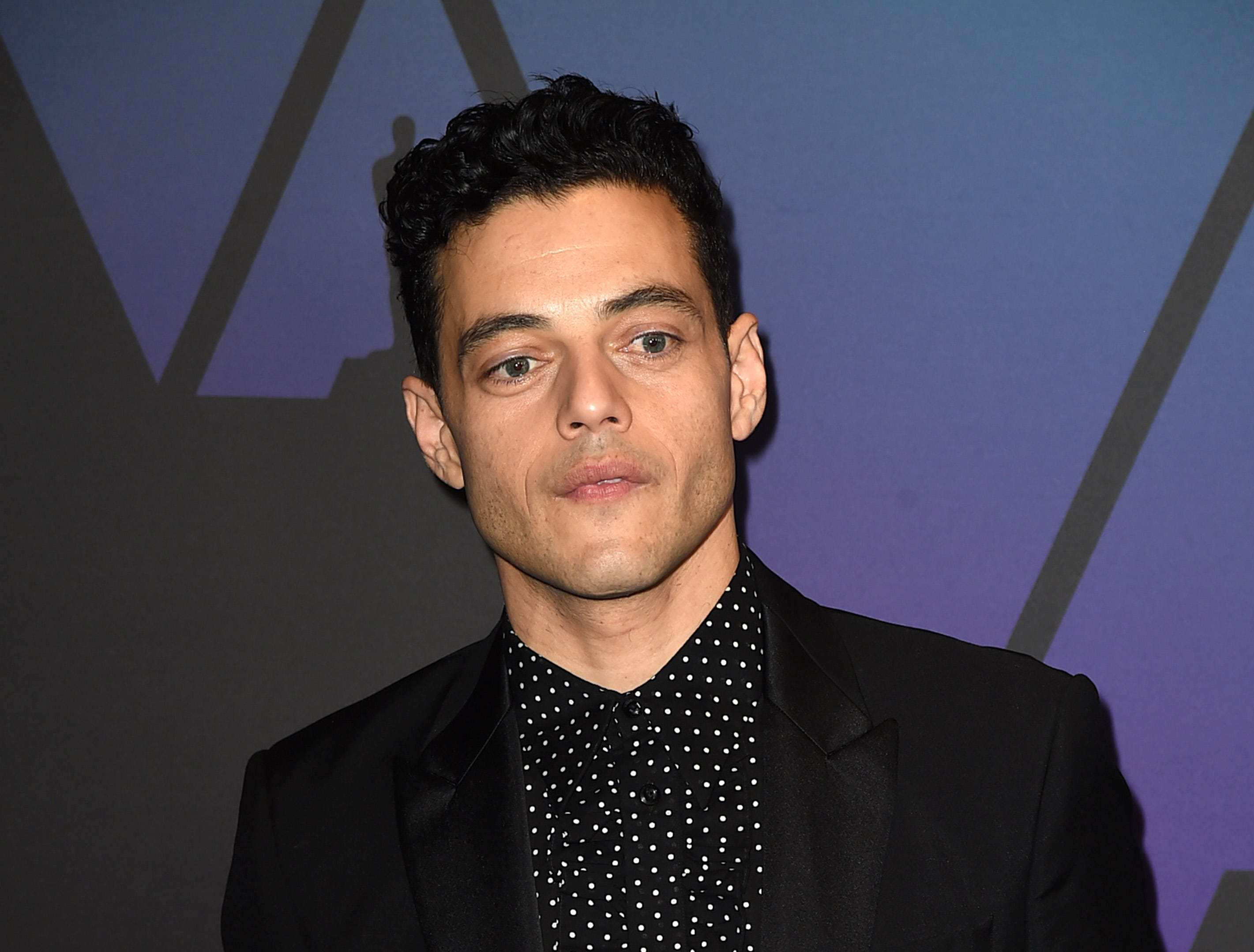 HOLLYWOOD, CA - NOVEMBER 18:  Rami Malek attends the Academy of Motion Picture Arts and Sciences' 10th annual Governors Awards at The Ray Dolby Ballroom at Hollywood & Highland Center on November 18, 2018 in Hollywood, California.  (Photo by Kevin Winter/Getty Images) ORG XMIT: 775223509 ORIG FILE ID: 1063405212