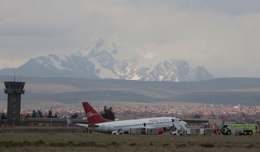Ap Bolivia Peru Plane Incident I Bol