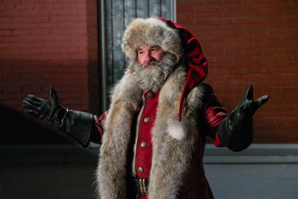"Kurt Russell stars as Santa Claus - and had a hand in casting Mrs. Claus - in Netflix's ""The Christmas Chronicles."""
