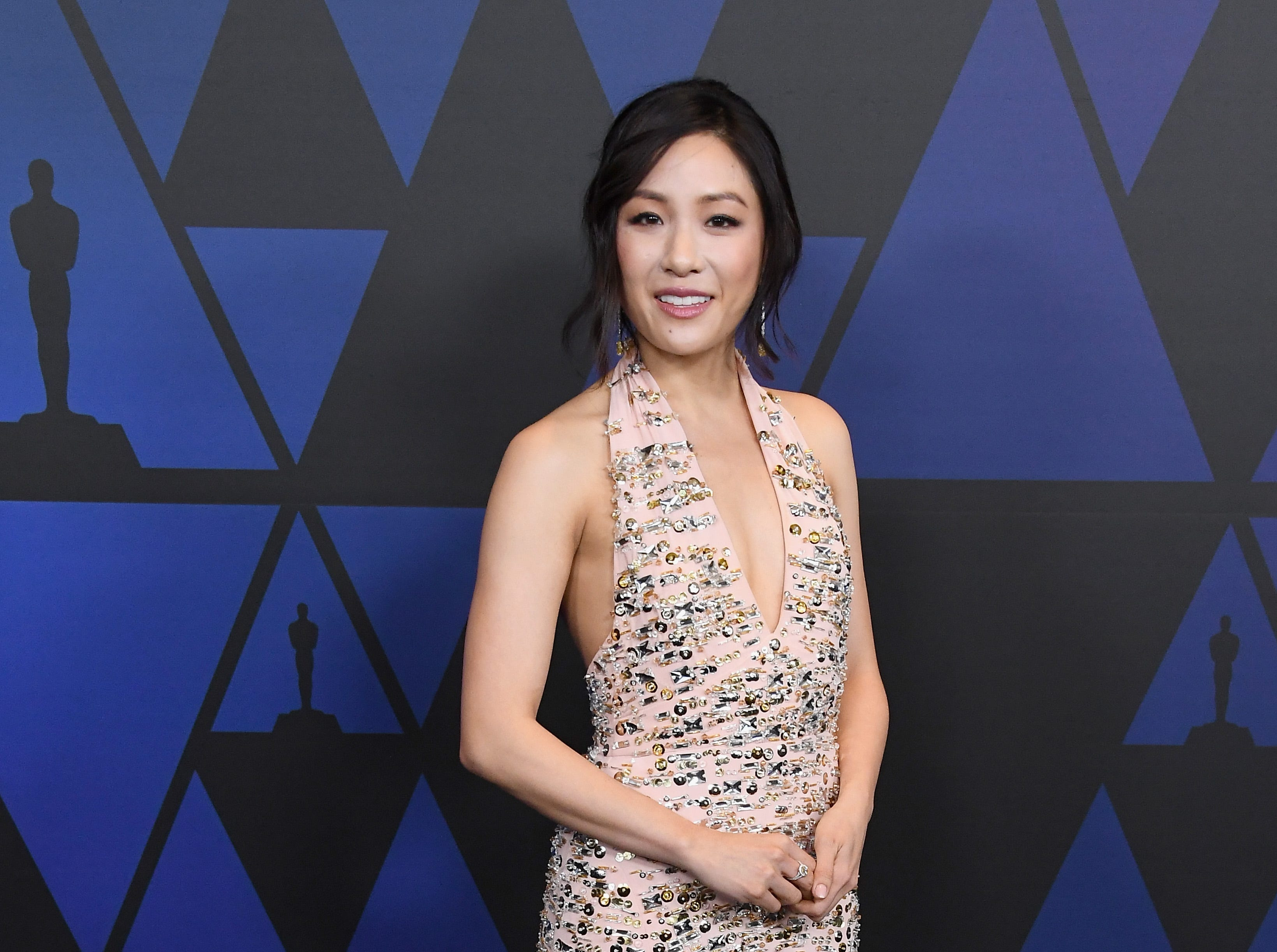 HOLLYWOOD, CA - NOVEMBER 18:  Constance Wu attends the Academy of Motion Picture Arts and Sciences' 10th annual Governors Awards at The Ray Dolby Ballroom at Hollywood & Highland Center on November 18, 2018 in Hollywood, California.  (Photo by Steve Granitz/WireImage) ORG XMIT: 775223509 ORIG FILE ID: 1063383656